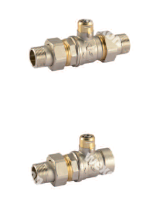Моторизированный клапан Comparato Sintesi Smart 2/2 Двухходовой шаровый кран, арт. SC2A2A9