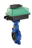 Моторизированный клапан Compact Pro Бабочка шаровый кран (чугун в сборе с приводом)