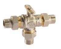 Моторизированный клапан Comparato Diamant 2000 3/2 Трёхходовой шаровый кран, арт. DC2B2P5D3
