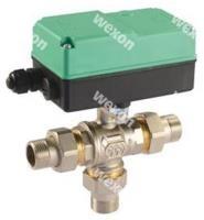 Моторизированный клапан Comparato Diamant 2000 3/2 Трёхходовой шаровый кран (в сборе с приводом)