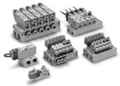 3/2 пневмораспределитель с электропневматическим управлением VQZ100/200/300