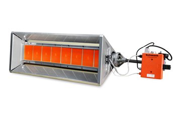 ecoSchwank серия 2000 газовые инфракрасные излучатели светлого типа