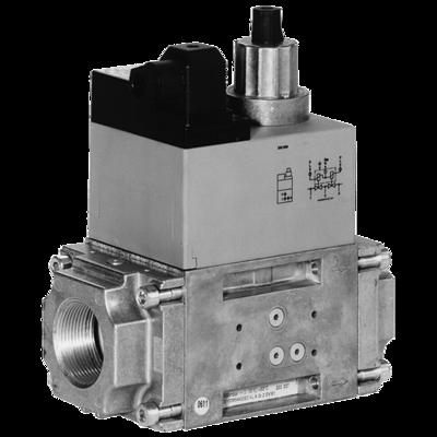 DMV-D(LE)/11 Rp 3/8 - Rp 2: Двойной электромагнитный клапан