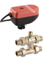 Моторизированный клапан Comparato Sintesi By-Pass шаровый кран (в сборе с приводом), арт.