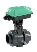 Моторизированный клапан Comparato Diamant Pro 2/2 Двухходовой шаровый кран PVC (в сборе с прив.), арт. DY242D2C42A