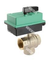 Моторизированный клапан Compact Pro 3/2 Трёхходовой шаровый кран (верт. в сборе с пр.)