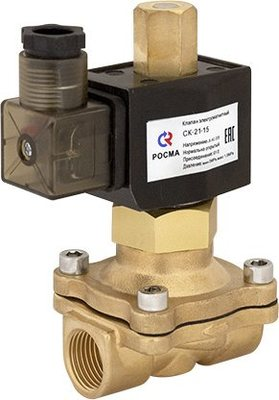 Клапан электромагнитный (соленоидный) Росма, тип СК