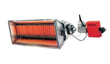 termoSchwank серия 2100 газовые инфракрасные излучатели светлого типа