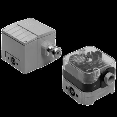 GGW...A4: Дифференциальный датчик-реле давления для газа, воздуха, дымовых и отработавших газов