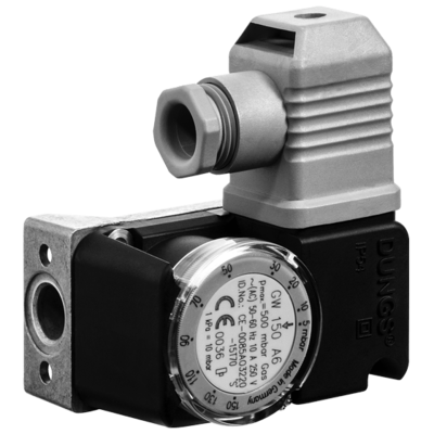 GW...A6: Компактный датчик-реле давления для газа и воздуха