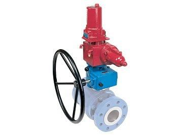 Rotork ILG-D Ручной редуктор дублер для пневматических приводов