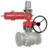 Rotork ILG-S PR Ручной редуктор-дублер для пневматических приводов