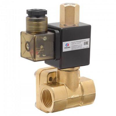 Клапан электромагнитный (соленоидный), непрямого действия, Росма, тип СК-ВД