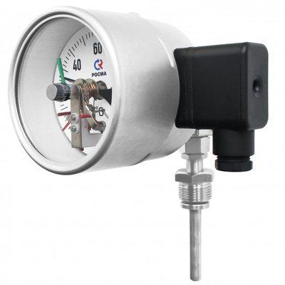 Термометры коррозионностойкие с электроконтактной приставкой (универсальное присоединение)