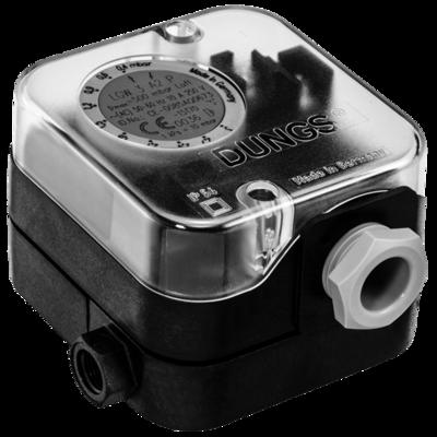 LGW A2-LGW A2P-LGW A2-7: Дифференциальный датчик-реле давления для воздуха, дымовых и отработавших газов