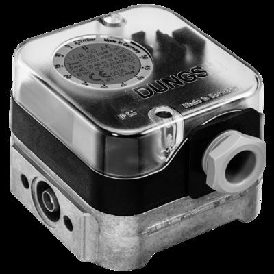LGW...A4: Дифференциальный датчик-реле давления для воздуха, дымовых и отработавших газов Датчик-реле избыточного давления для газа