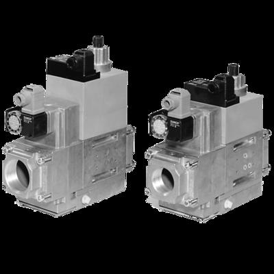 MB-D(LE) 415-420 B01: GasMultiBloc® (газовый мультиблок), модуль регулирования и безопасности, одноступенчатый режим эксплуатации