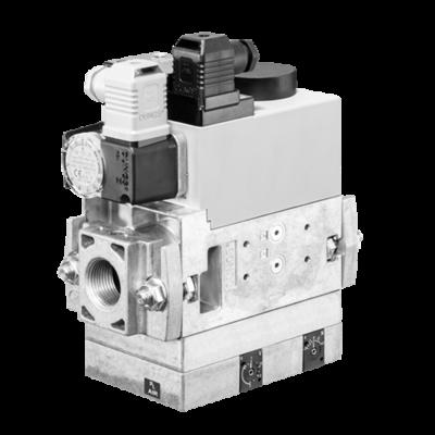 MB-VEF 407-412 B01: GasMultiBloc® (газовый мультиблок), модуль регулирования и безопасности, бесступенчатый плавный режим эксплуатации