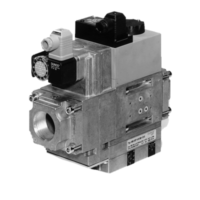 MB-VEF 415-425 B01: GasMultiBloc® (газовый мультиблок), модуль регулирования и безопасности, бесступенчатый плавный режим эксплуатации