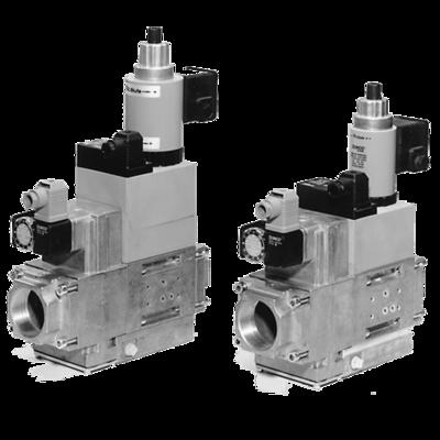 MB-ZRD(LE) 415-420 B01: GasMultiBloc® (газовый мультиблок), модуль регулирования и безопасности, двухступенчатый режим эксплуатации