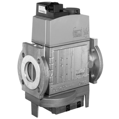 MBC-...-VEF: GasMultiBloc® (газовый мультиблок), модуль регулирования и безопасности, бесступенчатый плавный режим эксплуатации