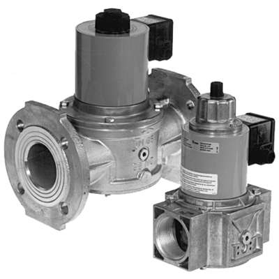 MV/4, MVD, MVD/5, MVDLE/5: Электромагнитный клапан безопасности, одноступенчатый