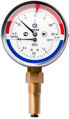 Термоманометры радиальные