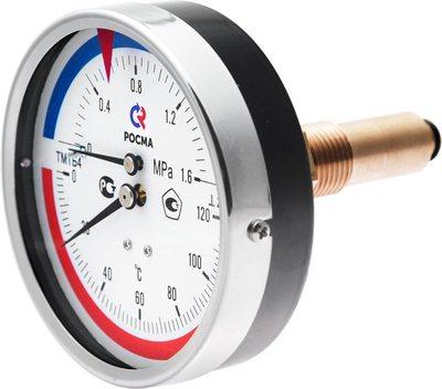Термоманометры осевые
