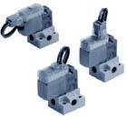 3/2 пневмораспределитель с прямым электромагнитным управлением V114