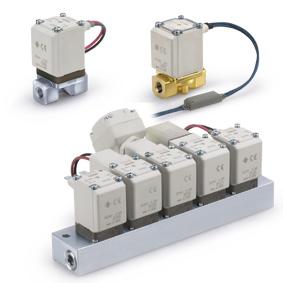 2/2 клапан с прямым управлением для различных сред VX2