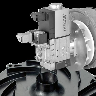 MBC-WND / GB-WND: Система DUNGS WhirlWind® для применения в горелках с предварительным смешением (pre-mix)